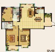 香榭里・定鼎广场3室2厅2卫147平方米户型图