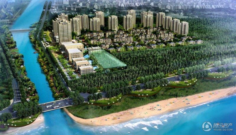 综合性休闲居住功能小区星海澜湾 均价6000元/平米