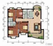 玉龙国际花园4室2厅2卫152平方米户型图