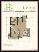 文化星城2室1厅1卫88--116平方米户型图
