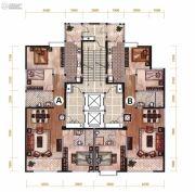 昆明广场3室2厅2卫140--146平方米户型图