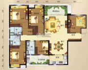 碧桂园・钻石湾5室2厅3卫168平方米户型图