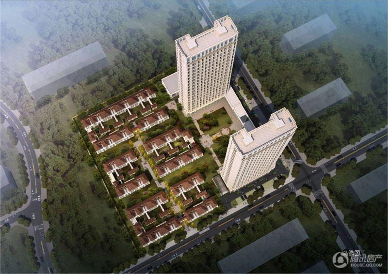 国贸东城合院项目效果图