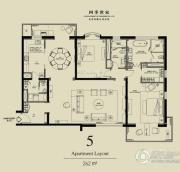 北京四季世家2室2厅2卫262平方米户型图