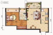 合信地王广场1室1厅1卫0平方米户型图