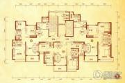 沧州恒大城3室2厅1卫142平方米户型图