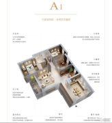 君悦・黄金海岸4室2厅2卫0平方米户型图