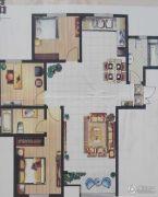 恒丰尚品3室2厅2卫0平方米户型图