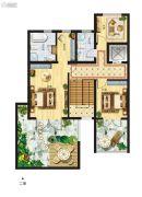 天境昆嵛中国院子4室2厅3卫208--248平方米户型图