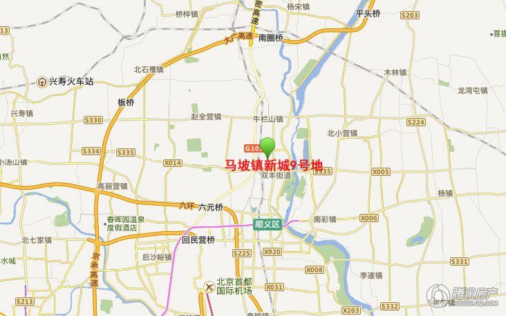 马坡镇新城9号地地图