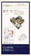 大雅云居山2室2厅1卫77平方米户型图