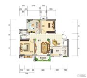 和世新都3室2厅1卫89平方米户型图