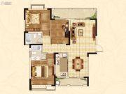 随州新城大自然3室2厅2卫127--85平方米户型图