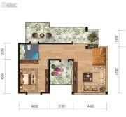 联投国际城0室0厅0卫171平方米户型图