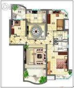 碧桂园・翡翠山3室2厅2卫125平方米户型图