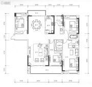 九街十八巷4室2厅2卫210平方米户型图