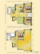 远达天际上城4室4厅2卫144平方米户型图