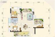 奥园国际城2室2厅1卫0平方米户型图