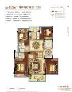 碧桂园珑悦4室2厅2卫0平方米户型图