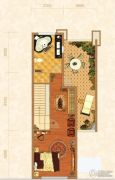北京城建龙樾湾1室1厅1卫179平方米户型图