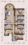 保利西海岸4室2厅3卫209平方米户型图
