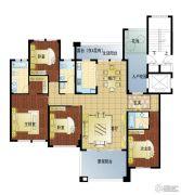 亚龙湾东湖4室2厅2卫198平方米户型图