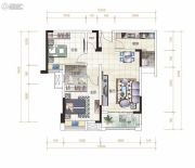金湾国际・特色农产品交易中心2室2厅1卫89平方米户型图