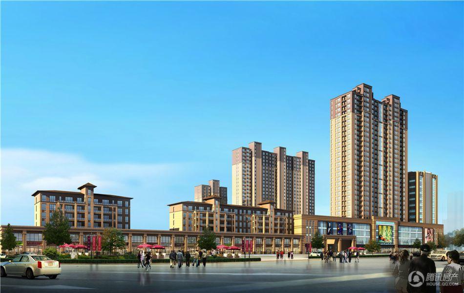 锦绣前城 规划图
