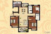 天明城3室2厅2卫134平方米户型图