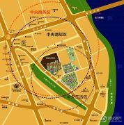 城市假日E区规划图