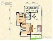 安南丽苑2室2厅1卫82平方米户型图