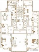 皇冠国际4室2厅3卫0平方米户型图