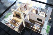 米兰假日3室2厅2卫113平方米户型图