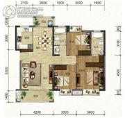 班芙春天3室2厅2卫0平方米户型图