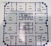 京源商务0平方米户型图