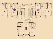 星港城市名都(商铺)123--134平方米户型图