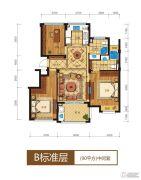 滨江西溪之星4室2厅2卫0平方米户型图