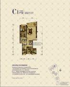 洱海天域4室2厅2卫233平方米户型图