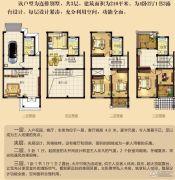 御景庄园4室2厅3卫210平方米户型图