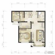 恒华・湖公馆2室2厅1卫0平方米户型图