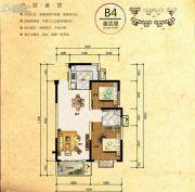 长沙平吉上苑2室2厅1卫82平方米户型图
