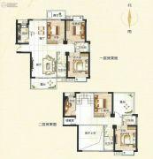 霞浦东泰华府6室3厅4卫241平方米户型图