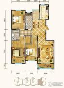 锦麟3室2厅2卫163平方米户型图