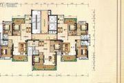 兴业花园3室2厅2卫127平方米户型图