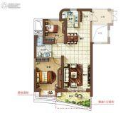 金都・海尚国际2室2厅1卫0平方米户型图
