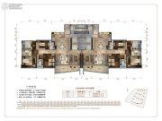 保利天汇4室2厅3卫270平方米户型图