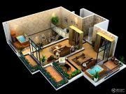 太白山水3室3厅2卫0平方米户型图