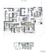 星汇御府5室2厅5卫394平方米户型图