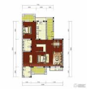绿堤香廊1室1厅1卫136平方米户型图