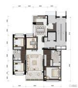 ��山道4室2厅2卫108平方米户型图